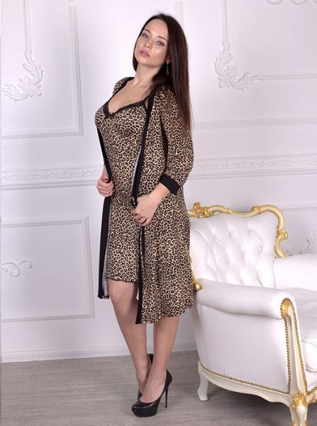Роскошный женский халат