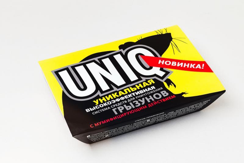 UNIG  высокоэффективная приманка от крыс и мышей с мумифицирующим эффектом 100+150 гр