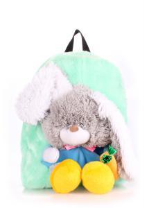 Фото РЮКЗАКИ Детский рюкзак POOLPARTY с зайцем