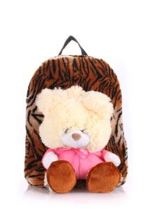 Фото РЮКЗАКИ Детский рюкзак POOLPARTY с медведем