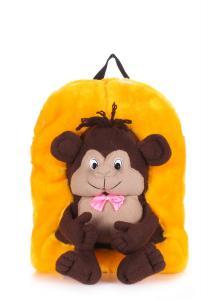 Фото РЮКЗАКИ Детский рюкзак POOLPARTY с обезьяной