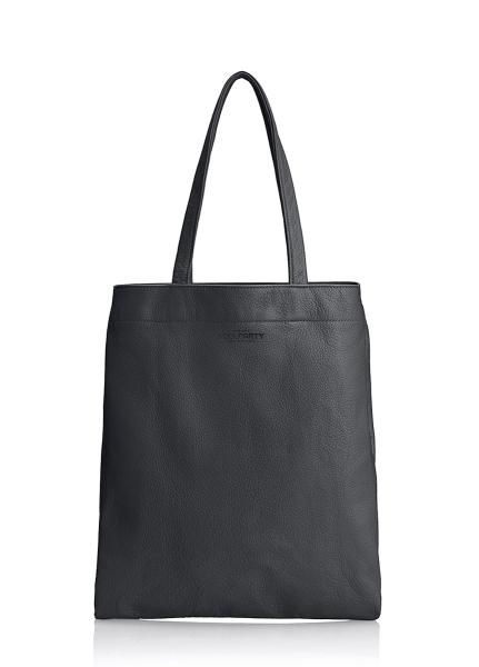Кожаная сумка POOLPARTY Daily Tote
