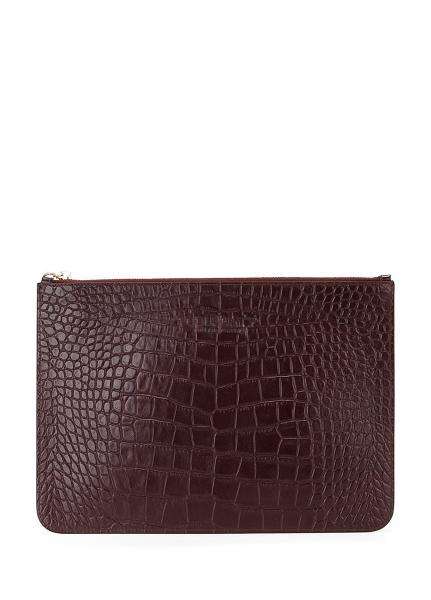 Кожаная сумочка-клатч POOLPARTY 2D