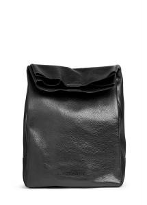 Фото  Кожаная сумка-клатч POOLPARTY Lunchbox