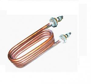 Фото Запчасти для медицинского оборудования ТЭН 160.02.001 (3кВт, 220В) - мель, штуцер М14х1,5 для мед. дистиллятора