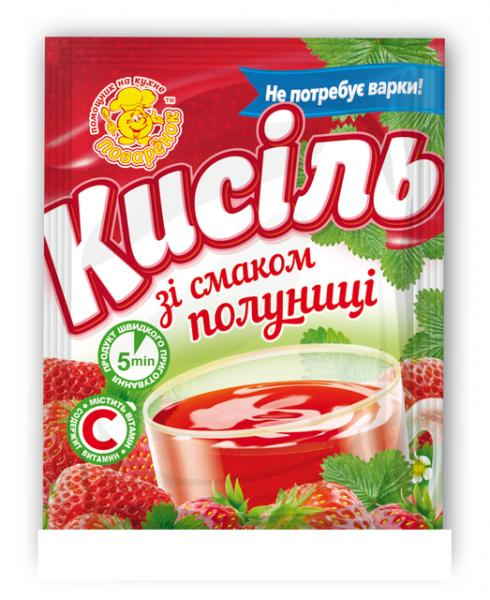 Кисель клубника,65 г