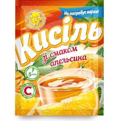 Кисель апельсин,65 г