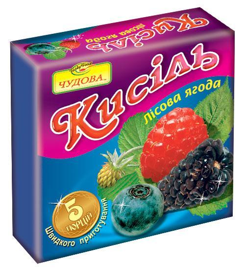 """Кисель """"Лесная ягода"""", 160г."""