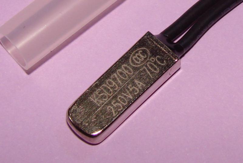Термостат KSD9700 5A 70 градусов нормально разомкнутый