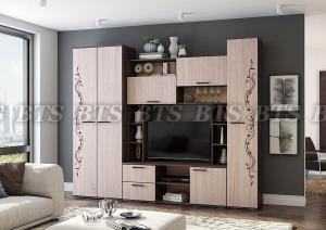 Фото  BTS мебель-Гостиная «Флора» -2