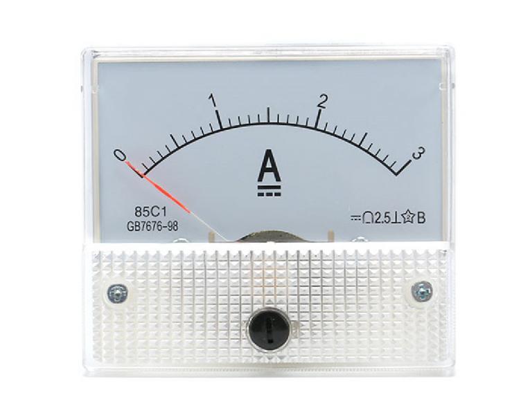 Амперметр аналоговый 3 А с встроенным шунтом