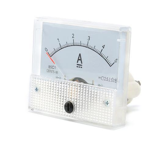 Амперметр аналоговый 5 А с встроенным шунтом