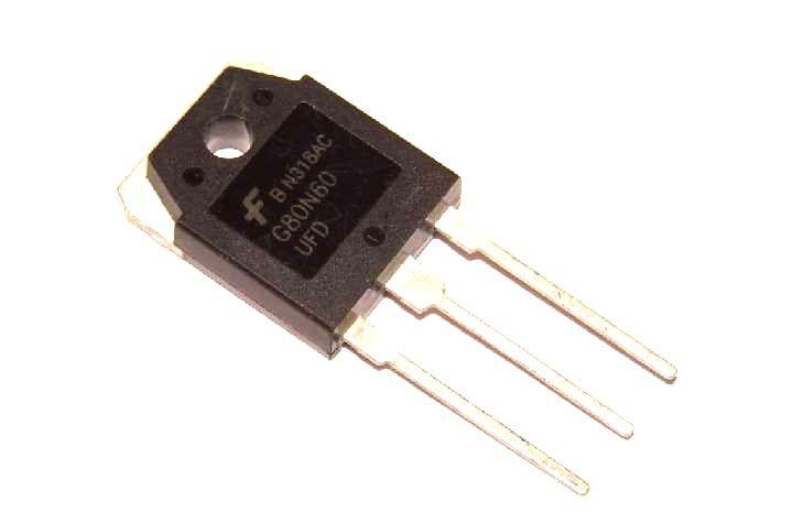 Транзистор G80N60 G80N60UFD