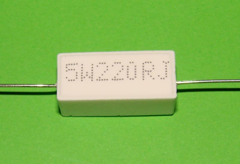 Резистор керамический 5 W 220 R