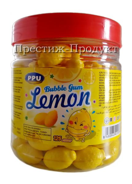 """Жевательная резинка """"Лимон"""" 125 шт."""
