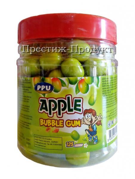 """Жевательная резинка """"Яблоко"""" 125 шт."""