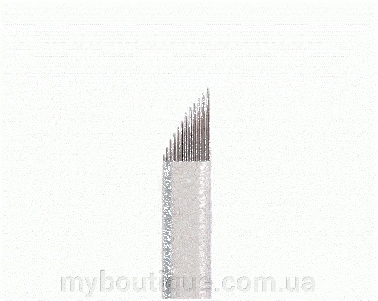 Наконечник (металлический) для нанесения перманентного макияжа №09 Kodi
