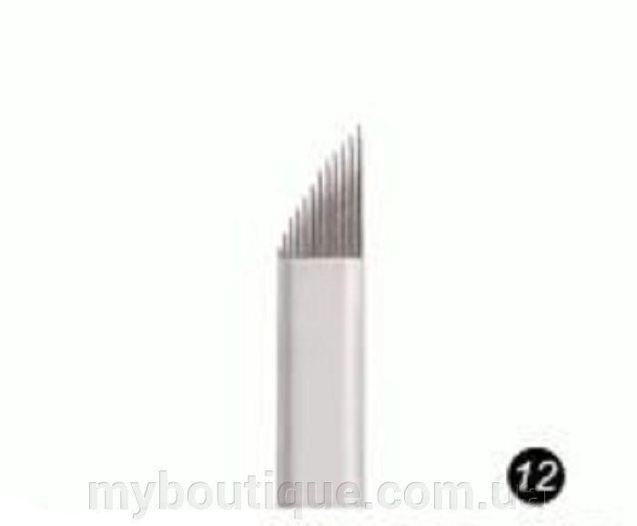 Наконечник (металлический) для нанесения перманентного макияжа №12 Kodi