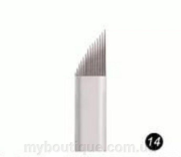 Наконечник (металлический) для нанесения перманентного макияжа №14 Kodi