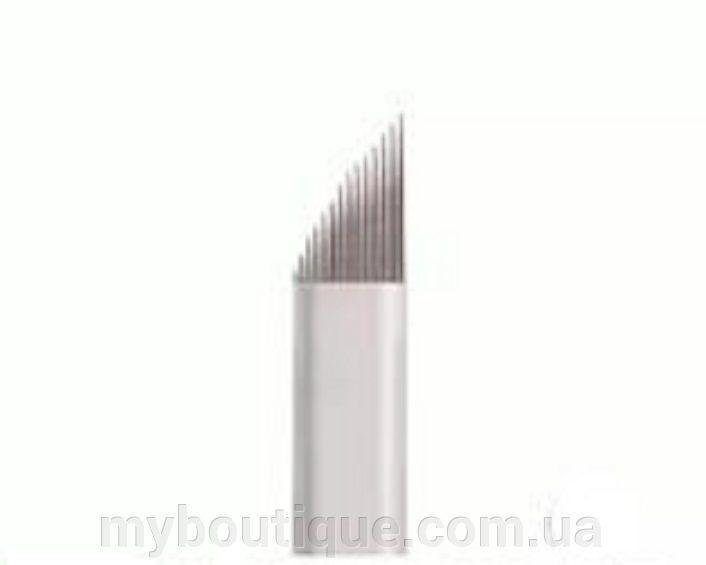 Наконечник (металлический) для нанесения перманентного макияжа №17 Kodi