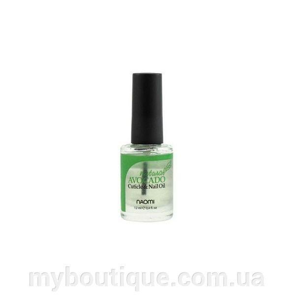 Масло для ногтей и кутикулы Naomi Cuticule Oil Avocado Natural 12 мл
