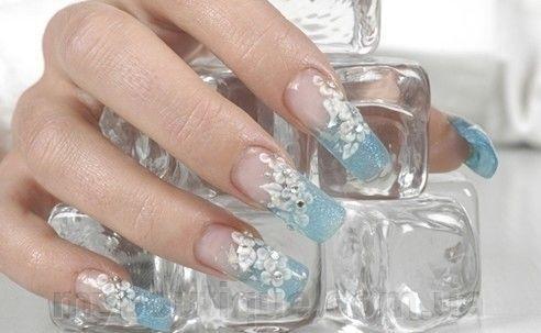 Фото Гелевые системы для наращивания ногтей, Витражные гели для наращивания ногтей Витражный гель для наращивания ногтей (сиреневый)