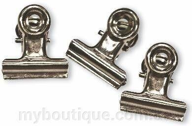 Зажим для создания арки ногтей (металлический) длина 2 см (10 шт)