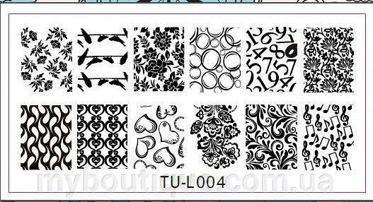 Пластины для стемпинга TU-L