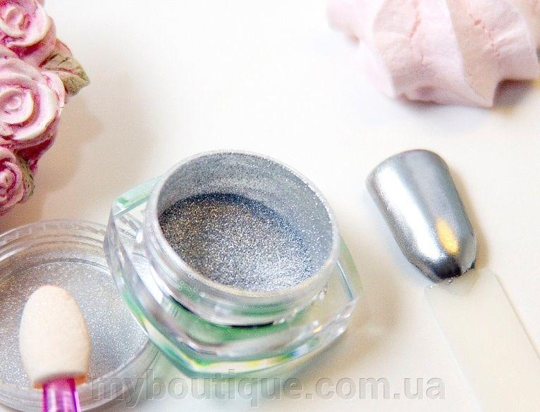 Пыль зеркальная 1 гр (silver) TM Enjoy Professional