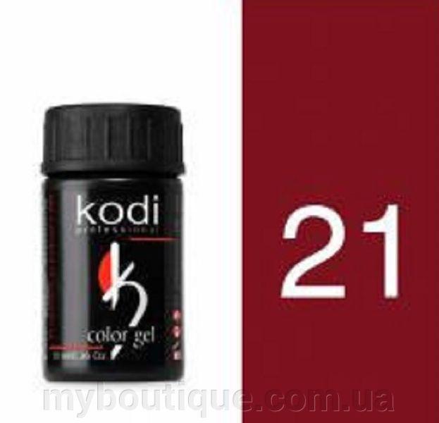 Гель цветной 21 Garnet 4 мл (Kodi)