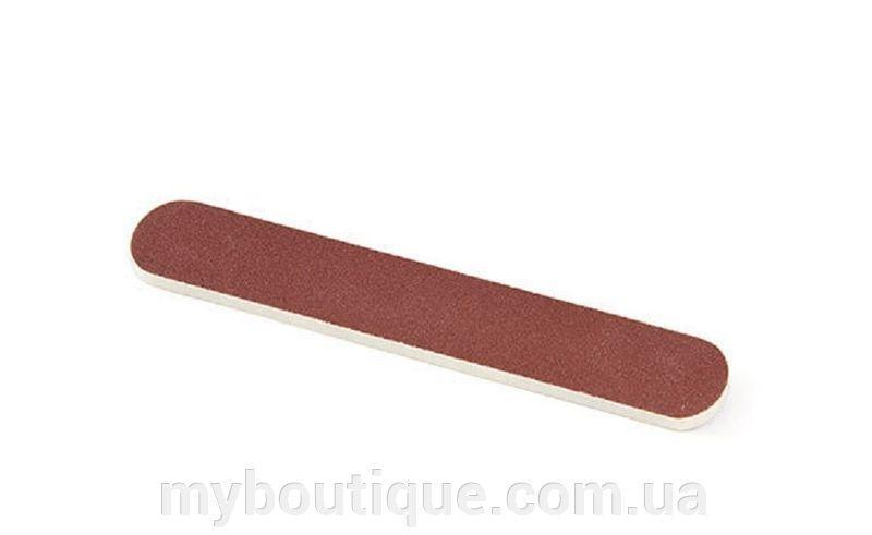Пилка педикюрная прямая 80/150 (водостойкая) My Nail