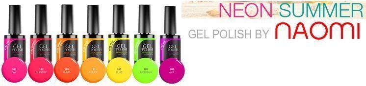Гель-лак Naomi Neon Color 6 мл