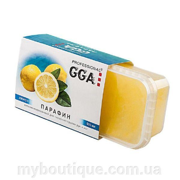 Парафин витаминизированный ЛИМОН 500 мл GGA Professional