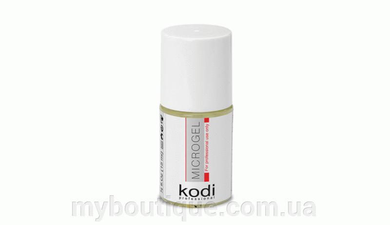 Средство для укрепления натуральной ногтевой пластины Microgel 15 мл. Kodi