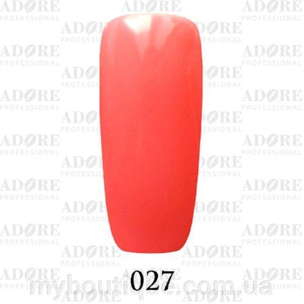 Гель-лак Adore Professional № 027, 9 мл