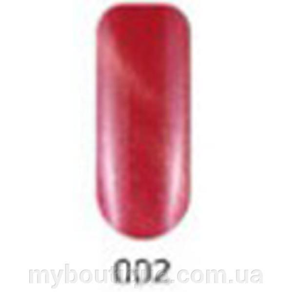 Гель-лак №002 (красный магнитный) кошачий глаз 10 мл Tertio