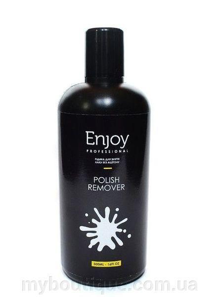 "Жидкость для снятия лака без ацетона ""Enjoy"" Polish Remover (500ml)"