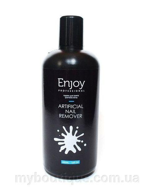 """Жидкость для снятия искусственных ногтей """"Enjoy"""" Artificial Nail Revover (500ml)"""