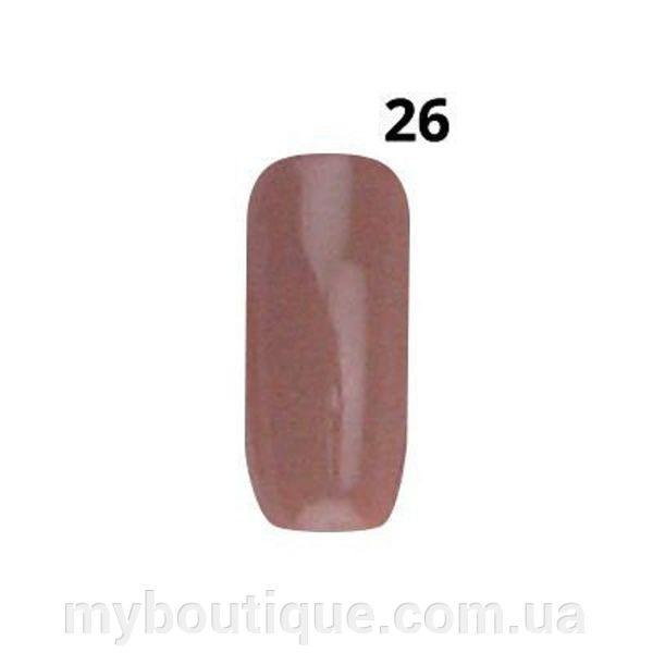 """Гель-лак maXmaR №026 """"Бежево-Коричневый"""", 15 ml"""