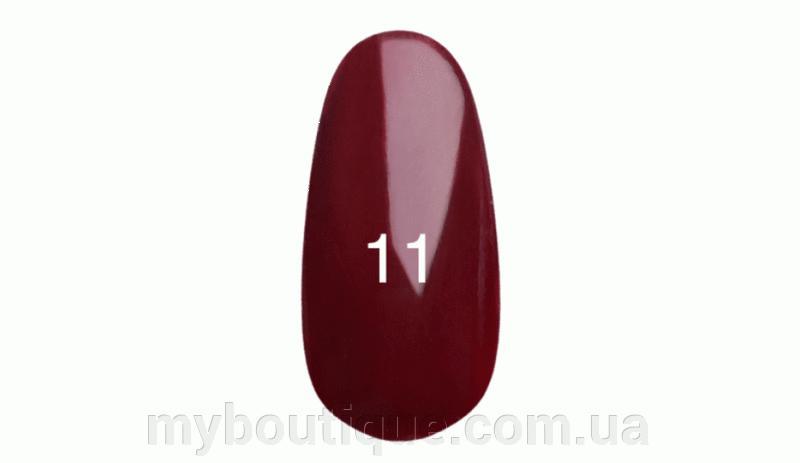 Гель лак для ногтей Kodi №011 (сангрия, с перламутром) 8 мл
