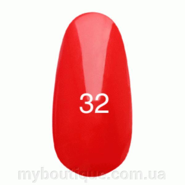 Гель лак для ногтей Kodi №032 (светло-красный, эмаль) 8 мл