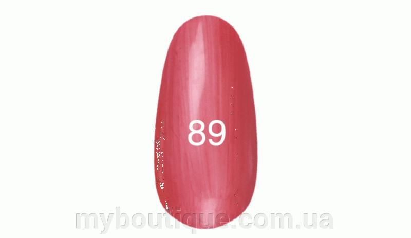 Гель лак для ногтей Kodi №089 (коралловый с перламутром) 8 мл