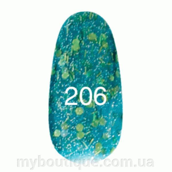 Гель лак для ногтей Kodi №206 8 мл