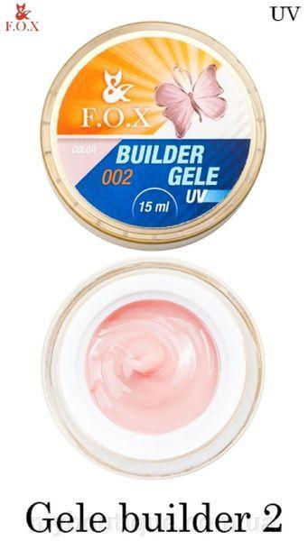 Моделирующий гель-желе F. O. X Gele builder gel UV 2 15 мл