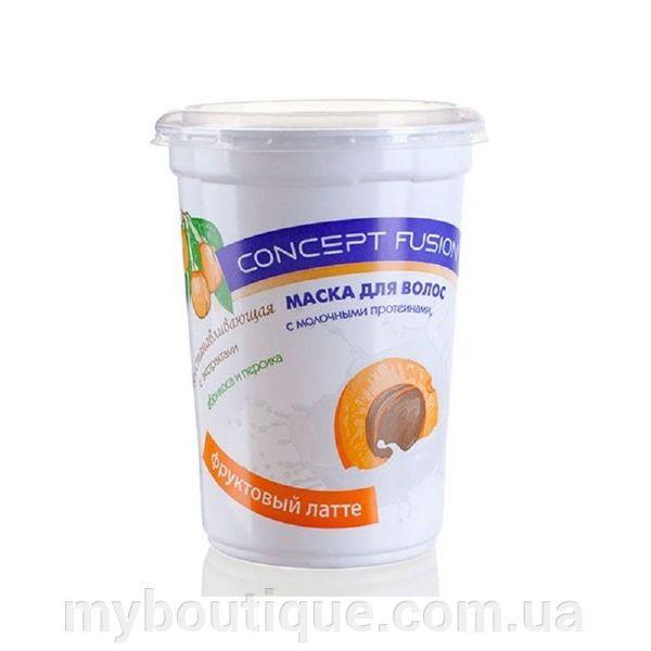 Фруктовый латте восстанавливающая с экстрактом абрикоса и персика, 450 мл Concept