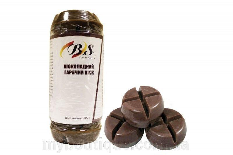Воск B. S. горячий в блоках шоколадный / маисовый 500 г.