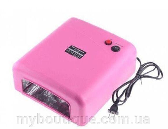 Ультрафиолетовая лампа для наращивания ногтей 818 (36 ватт)