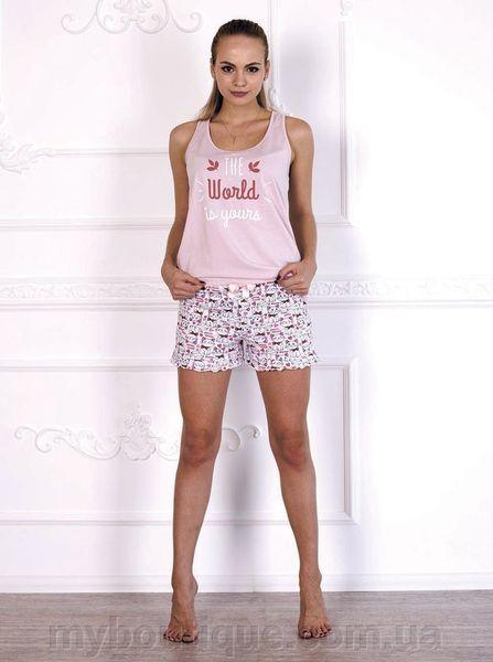 Женская пижама с шортиками 579
