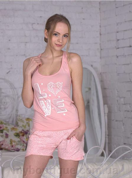 Женская пижама с шортиками 500
