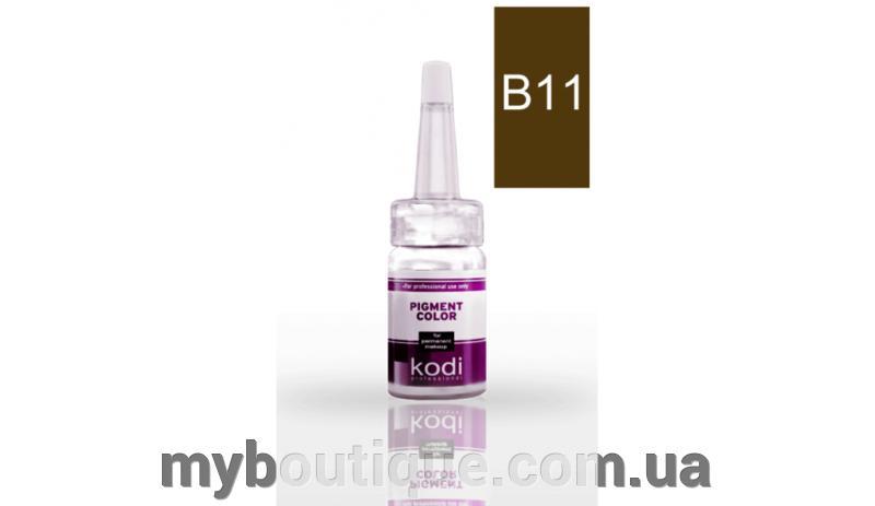 Пигмент для бровей В11 (Эспрессо) 10 мл Kodi